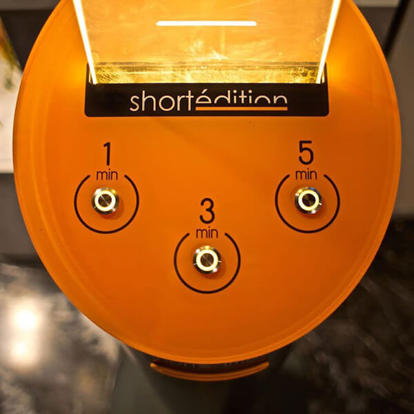 Short Story Dispenser: Read While You Wait