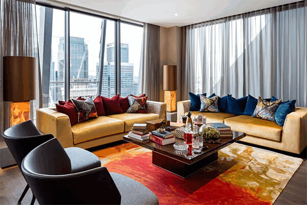 Show Home at Dollar Bay in Canary Wharf, London