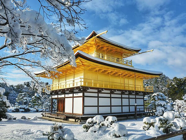 Magnificent Photos of Traditional Architectures of Japan in Snow