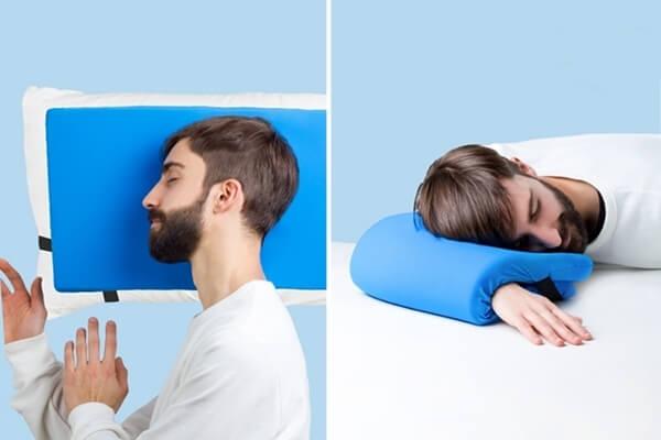 OMNI Travel Pillow: Three Sleeping Possibilities