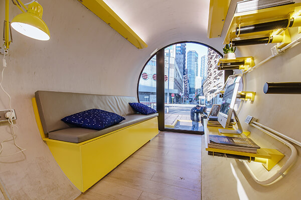OPod Tube: a Low Cost, Micro Living Housing Unit