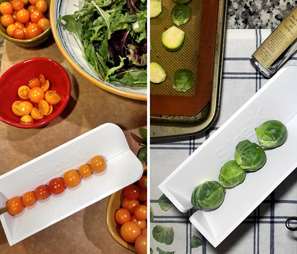 Slicex: A Cutting Board That Makes Slicing Small, Round Produce Faster And Safer