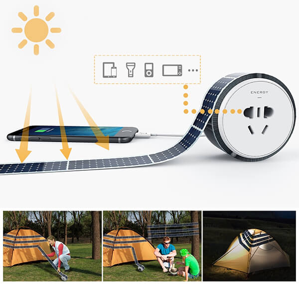 Solar Power Tape: Embrace the Green Energy