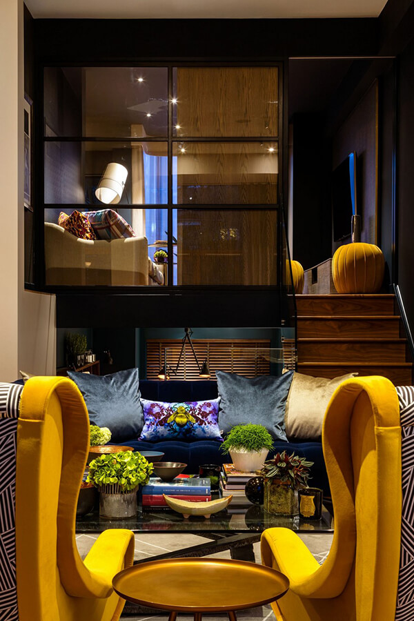 Mellow Yellow Family Home in London, UK