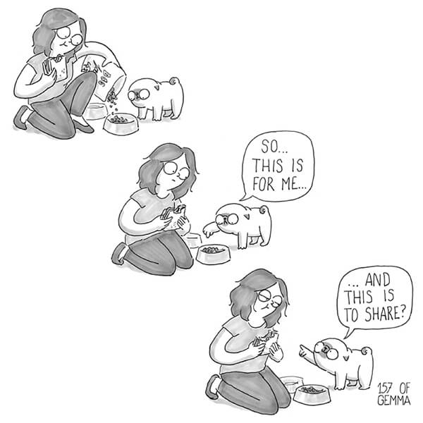 Hilarious Comics Sum Up How the Life Looks Like Living With A Dog
