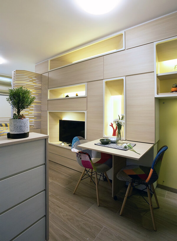 Micro 324 Square Feet Apartment in HongKong