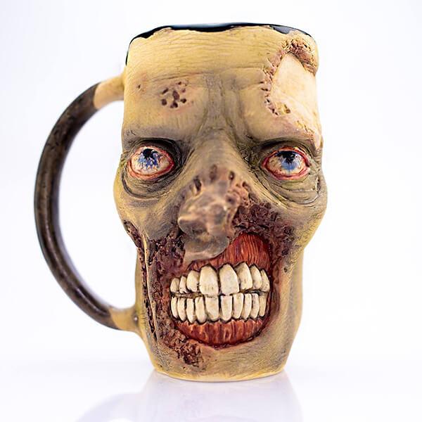 Creepy Coffee Mug by Cerapost