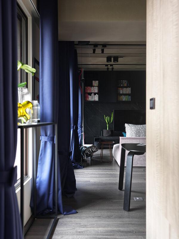 Unusual Small Apartment Design in Taipei