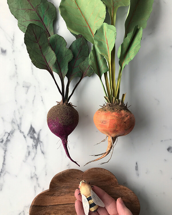 Realistic Paper Fruits and Vegetables Look Good Enough to Eat