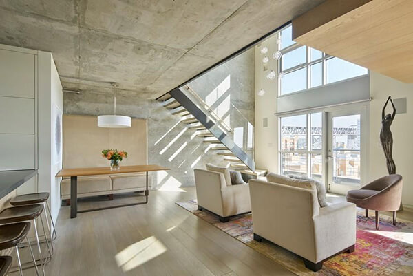 SoMa Loft With Spectacular Bay Bridge Views in San Francisco