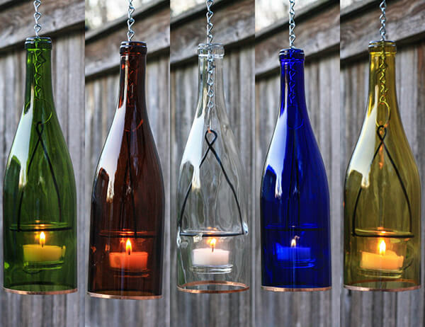 10 Creative Products Made Out Of Recycled Wine Bottle