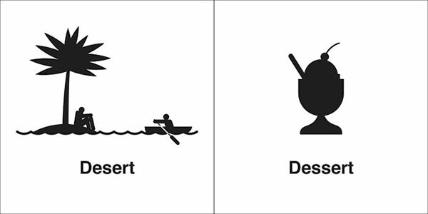 Funny Illustration of Homophones That You Probably Confuse Way Too Often