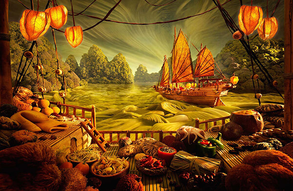 Amazing Food Landscape by Carl Warner