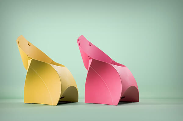 Flux Chair: Origami Inspired Folding Chair