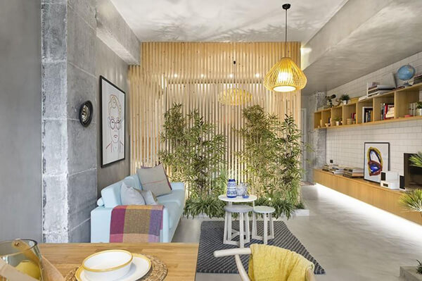 Greenery Filled Apartment in Barcelona