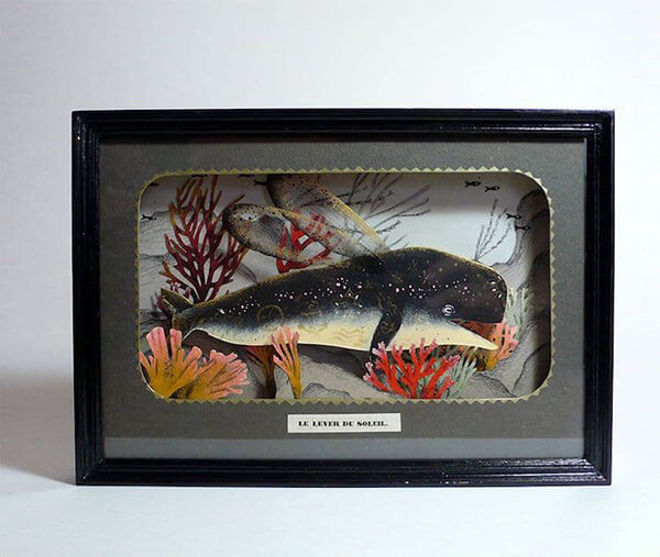 Playful Ocean-inspired Diorama Art by Céline Chevrel