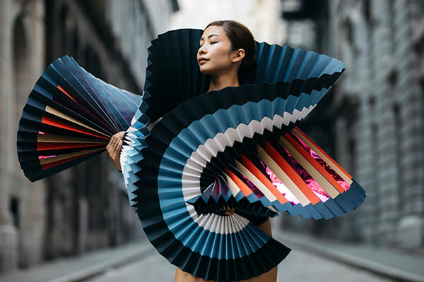 Hand-folded Paper Ballet Costumes by Melika Dez and Pauline Loctin