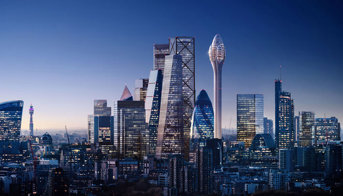 TULIP: 305 Metre Tower with a Rotating Gondolas in London