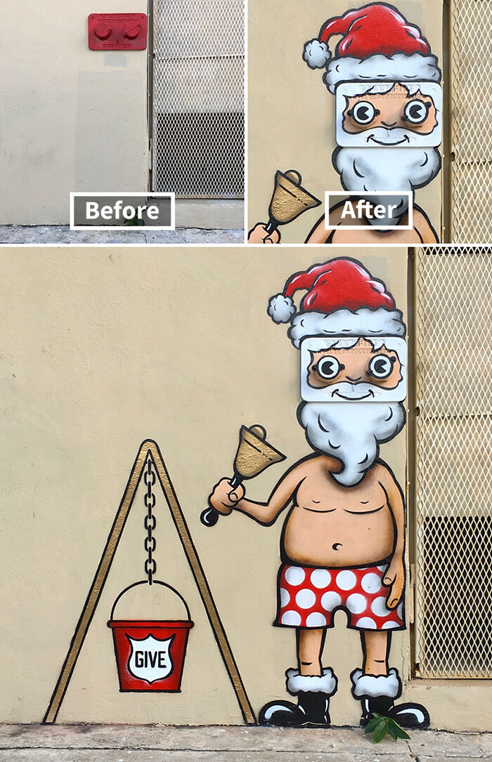 Witty Street Art by Tom Bob