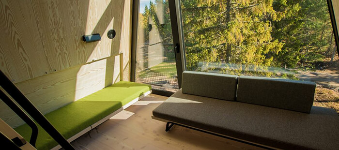 PAN: Treetop House Offers New Perspective of Norwegian Forest