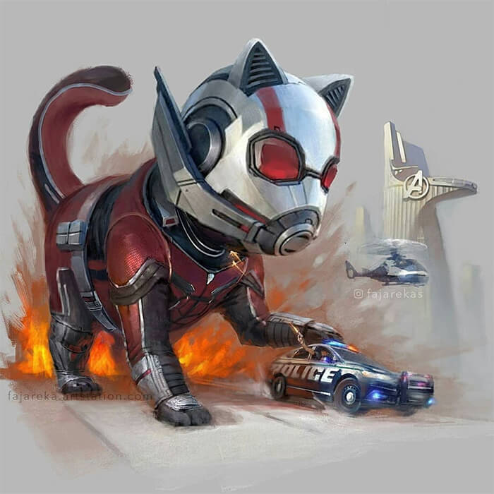 Catvengers: When Cat Becomes Superhero