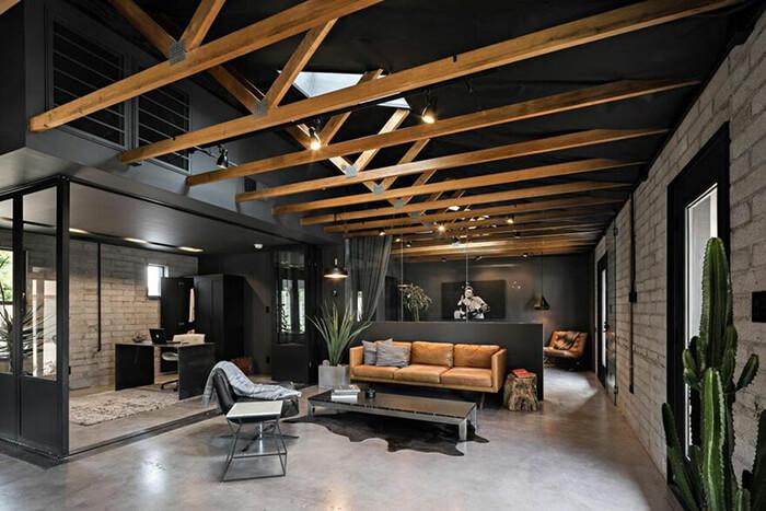 Modern Loft Style Home in Arizona by Knob Modern Design