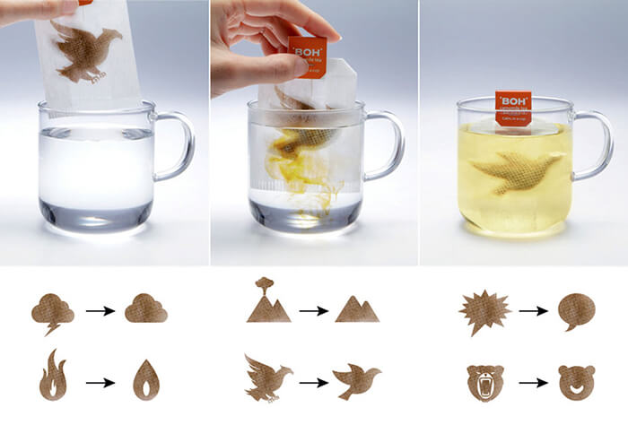 3 More Creative Tea Bag Designs