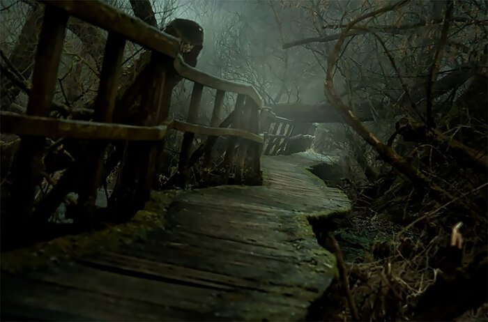 A Trail To Mordor: Terrifying Hidden Forest Path