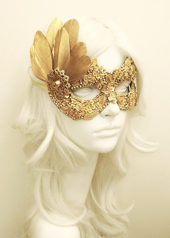 Beautiful Mardi Gras Masks Help Your Celebrate Carnival In Style