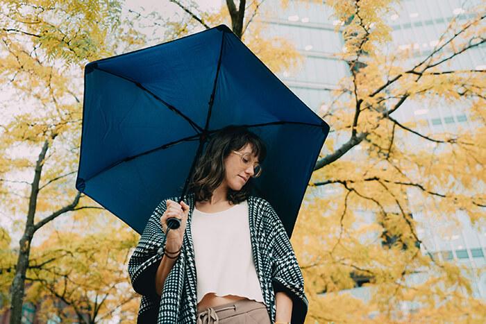 Lightweight Lifetime Umbrella for 70-MPH Winds