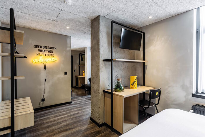 Stylish Hotel With Strong Visual Identity in Belgium