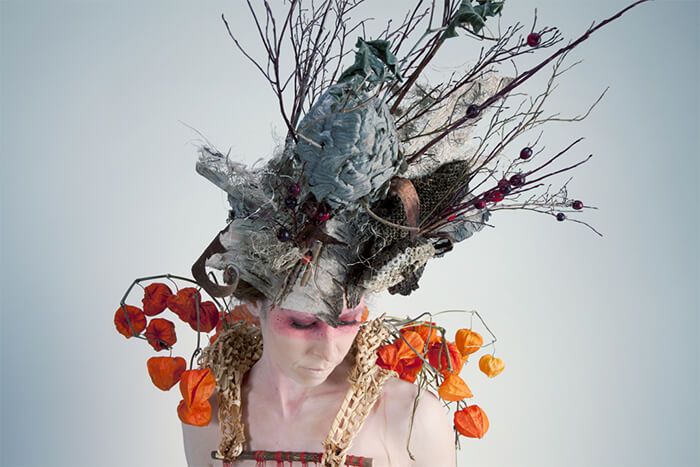 Botanical Wearables by Nicole Dextras