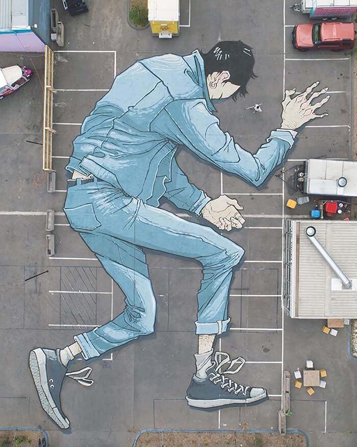 Giant Pavement Paints by Kitt Bennett