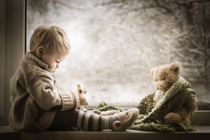 Enchanting Portraits of Kids by Iwona Podlasińska