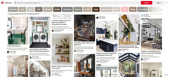 Where to Find the Best Interior Design Ideas on Social Media