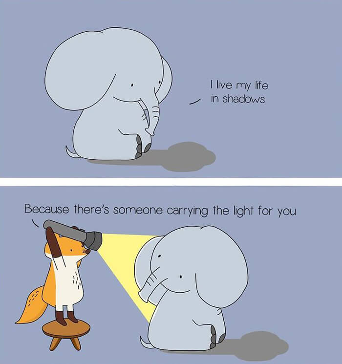 Heart Warming Comics to Inspire People To Love And Care For Themselves