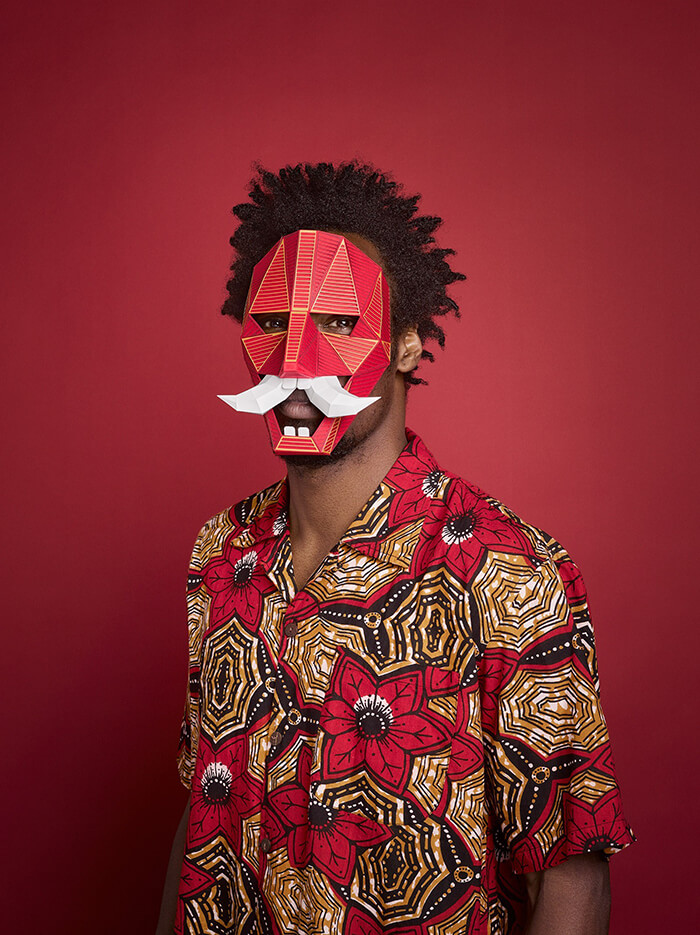 New Species: Playful Paper Masks by Lobulo Studio