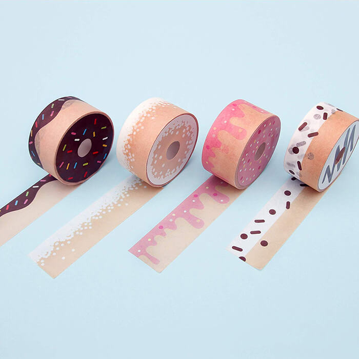 Whimsical Rolls of Tape Look Like Food