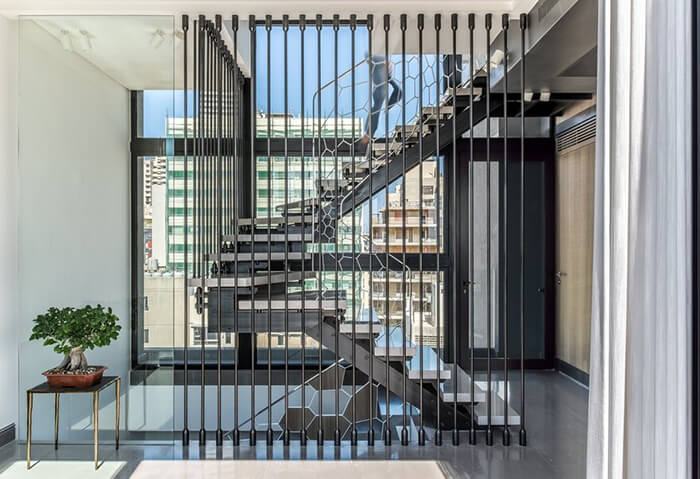 Three-Level Penthouse in the heart of Beirut, Lebanon