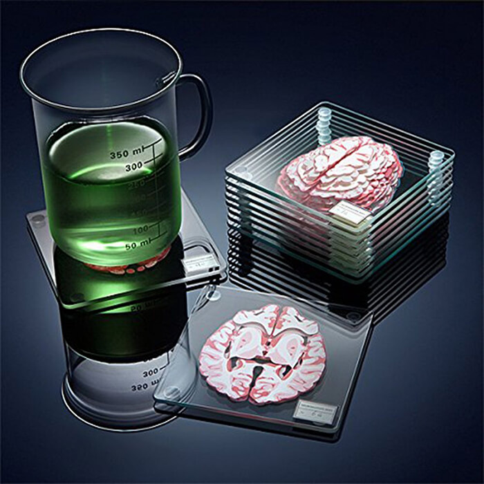 8 Creepy Brain Inspired Designs