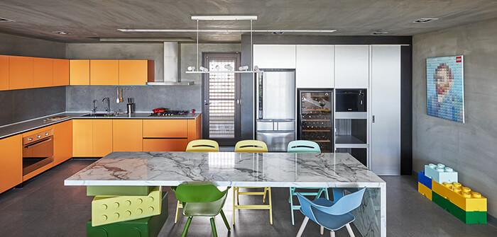 Creative LEGO Themed Apartment Design