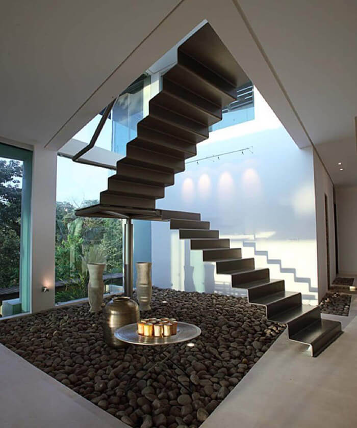 20+ Modern and Creative Stair Designs