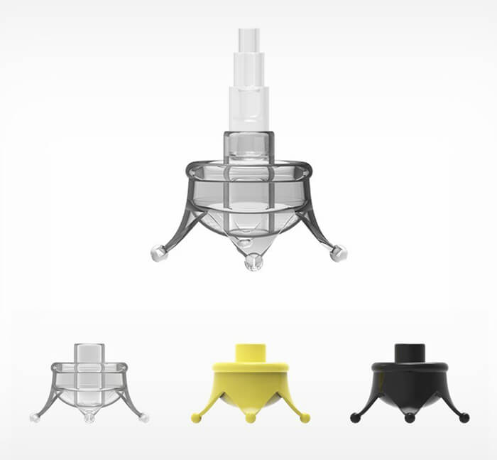 Umbrella Crown Helps Your Umbrella Stands by Itself and Keep Your Floor Dry