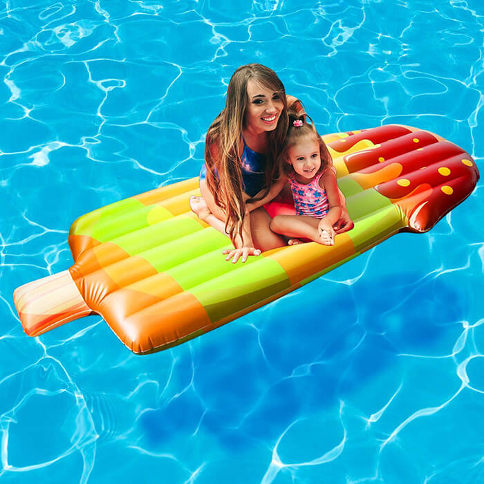 Giant Inflatable Popsicle Float