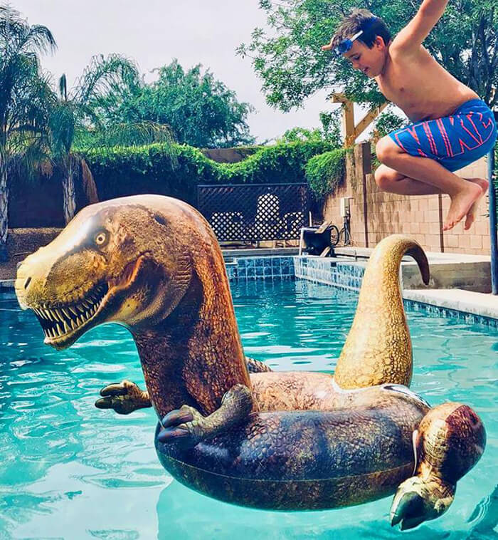 Jurassic World Swimming Pool Float
