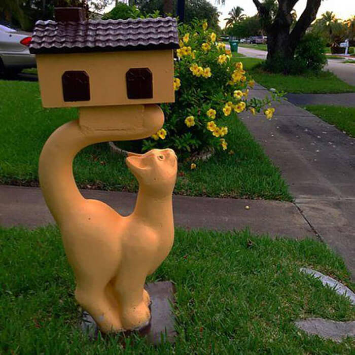 24 Playful Mailbox Designs That Make Everyone Pass-by Have a Second Look