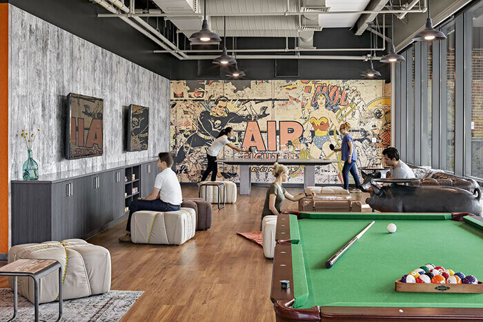 Break-Time at Work Just Got Even More Exciting: The 6 Coolest In-Office Recreation Room Ideas