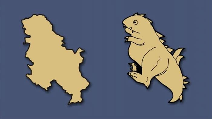 What Those European Countries Shape Like?