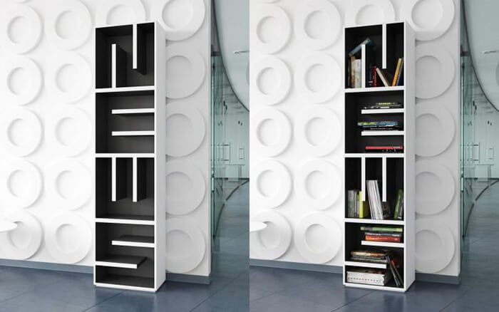 ABC Modular Bookcase Allows You Spell Whatever You Want