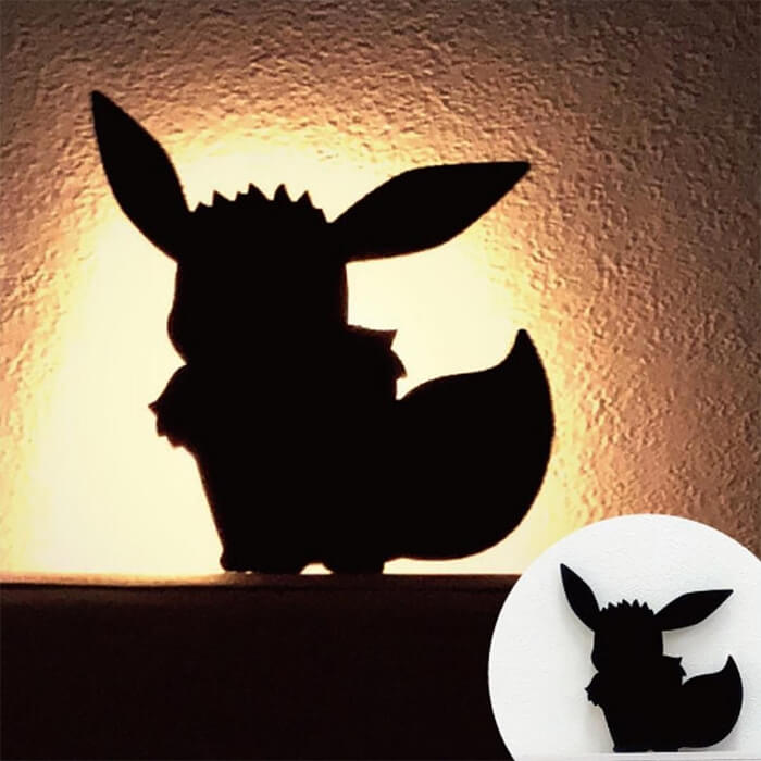 Adorable Pikachu LED Wall Light